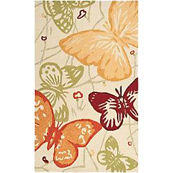 Artistic Weavers Tapis de passage d'intérieur/extérieur, 8 pi x 10 pi 6 po, style transitionnel, rectangulaire, multicolore Carmelo