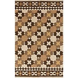 Artistic Weavers Tapis de passage d'intérieur/extérieur, 8 pi x 10 pi 6 po, style transitionnel, rectangulaire, brun Lacaze