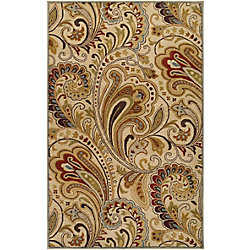 Artistic Weavers Linares Beige Tan 8 ft. x 11 ft. Indoor Transitional Rectangular Area Rug
