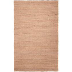 Artistic Weavers Carpette d'intérieur, 5 pi x 8 pi, style transitionnel, rectangulaire, havane Parral