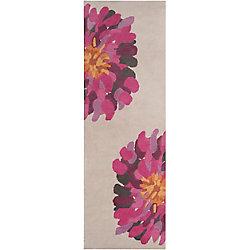Artistic Weavers Tapis de passage d'intérieur, 2 pi 6 po x 8 pi, style transitionnel, rose Coronel