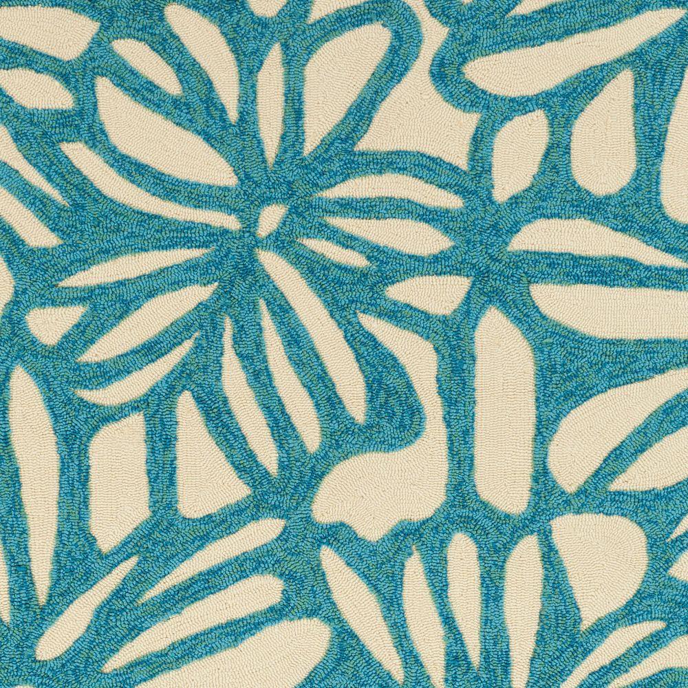 Artistic Weavers Arimu Blue 8 ft. x 10 ft. 6-inch Indoor/Outdoor Transitional Rectangular Area Rug
