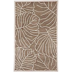 Artistic Weavers Carpette d'intérieur, 5 pi x 8 pi, style transitionnel, rectangulaire, havane Blairmo
