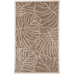 Artistic Weavers Carpette d'intérieur, 8 pi x 11 pi, style transitionnel, rectangulaire, havane Blairmo