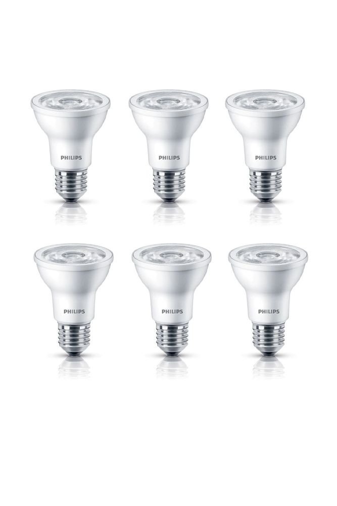 LED 50W Par20 Bright White (3000K) - 6 Pack