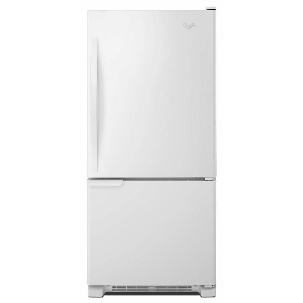 18.7 cu. ft. Refrigerator with Bottom Mount Freezer and Accu-Chill System in White