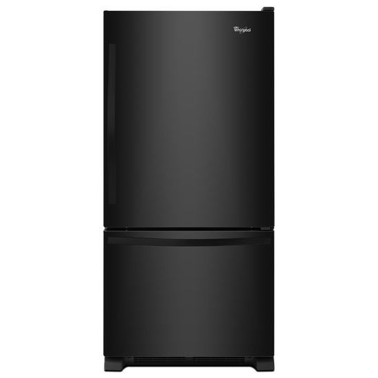 18.7 cu. ft. Refrigerator with Bottom Mount Freezer and Accu-Chill System in Black