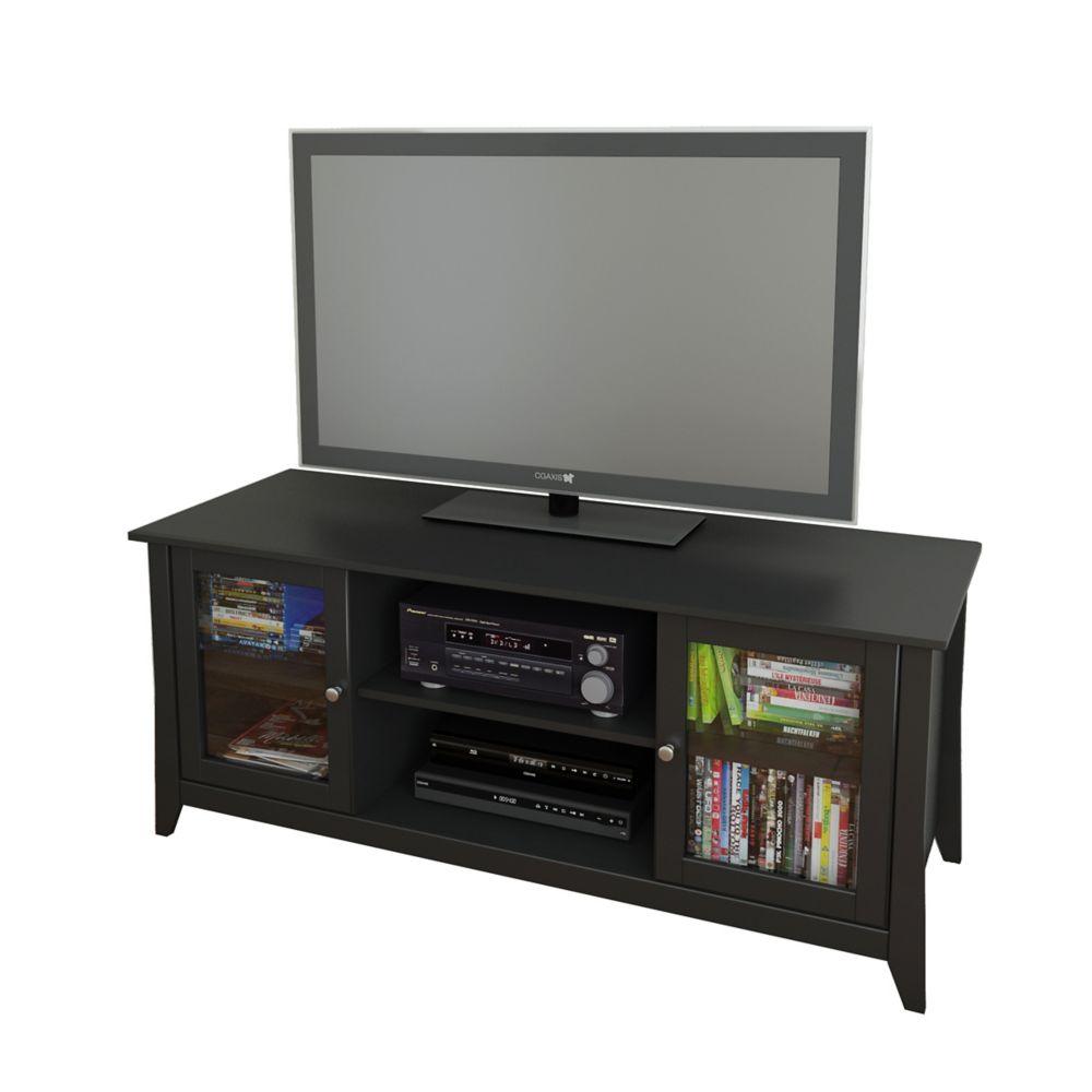 Tuxedo 58-inch x 24.5-inch x 21-inch TV Stand in Black