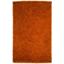 Artistic Weavers Cuthbaci Orange 1 ft. 9-inch x 2 ft. 10-inch Indoor Shag Rectangular Accent Rug