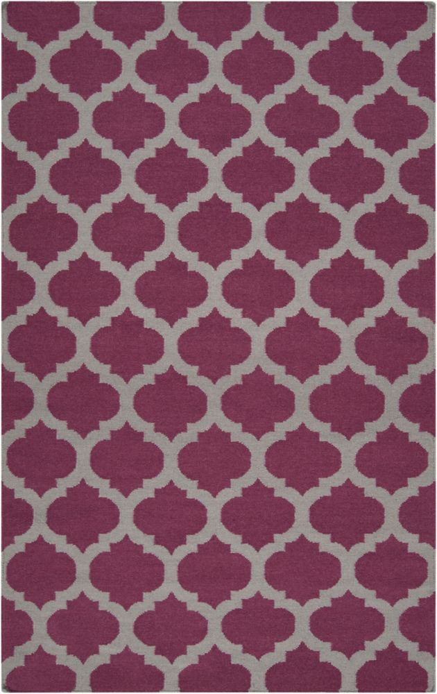 Artistic Weavers Saffre Purple 3 ft. 6-inch x 5 ft. 6-inch Indoor Contemporary Rectangular Area Rug