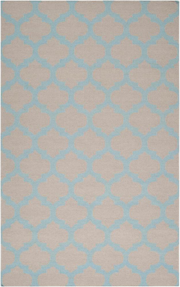 Artistic Weavers Saffre Blue 8 ft. x 11 ft. Indoor Contemporary Rectangular Area Rug