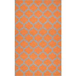 Artistic Weavers Saffre Orange 12 ft. x 13 ft. Indoor Contemporary Rectangular Area Rug
