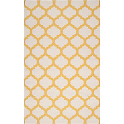 Artistic Weavers Carpette d'intérieur, 5 pi x 8 pi, à poils longs, style contemporain, rectangulaire, blanc cassé Saffre