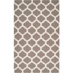 Artistic Weavers Carpette d'intérieur, 8 pi x 11 pi, style contemporain, rectangulaire, gris Saffre