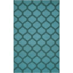 Artistic Weavers Saffre Blue 8 ft. x 11 ft. Indoor Contemporary Rectangular Area Rug