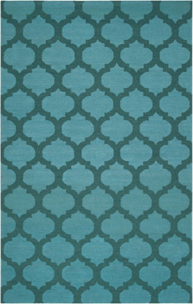 Saffre Sea Wool 9 Feet x 13 Feet Area Rug