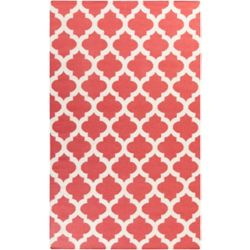 Artistic Weavers Carpette d'intérieur, 3 pi 6 po x 5 pi 6 po, style contemporain, rectangulaire, rouge Saffre
