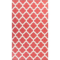 Artistic Weavers Carpette d'intérieur, 8 pi x 11 pi, style contemporain, rectangulaire, rose Saffre