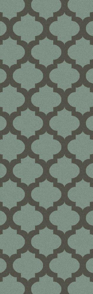 Saffre Charcoal Wool 2 Ft. 6 In. x 8 Feet Runner