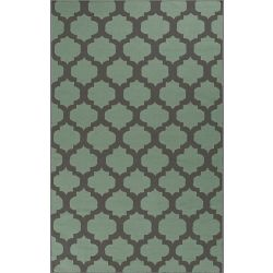 Artistic Weavers Saffre Green 3 ft. 6-inch x 5 ft. 6-inch Indoor Contemporary Rectangular Area Rug