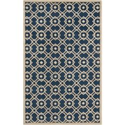 Artistic Weavers Carpette d'intérieur, 3 pi 3 po x 5 pi 3 po, style contemporain, rectangulaire, bleu Taintrux