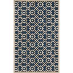 Artistic Weavers Carpette d'intérieur, 8 pi x 11 pi, style contemporain, rectangulaire, bleu Taintrux