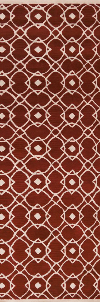 Taintrux Clay New Zealand Wool Runner - 2 Ft. 6 In. x 8 Ft. Area Rug