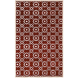 Artistic Weavers Taintrux Red 3 ft. 3-inch x 5 ft. 3-inch Indoor Contemporary Rectangular Area Rug