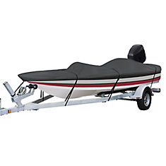 StormPro Heavy Duty Boat Cover with Support Pole, Fits Boats 14 ft. - 16 ft.L x 90 inchW