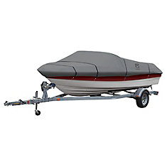 Lunex RS-1 Boat Cover, Fits Boats 17 ft. - 19 ft. L x 102 inch W