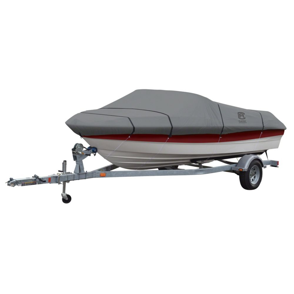 Classic Accessories Lunex RS-1 Boat Cover, Fits Boats 17 ft. - 19 ft. L x 102 inch W