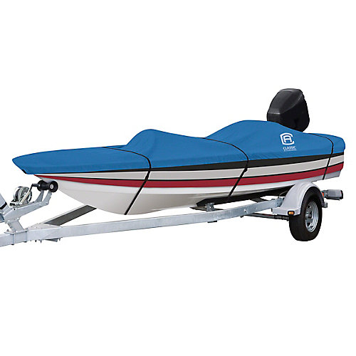 Stellex All Seasons Boat Cover, Fits Boats 14 ft. - 16 ft. L x 90 inch W