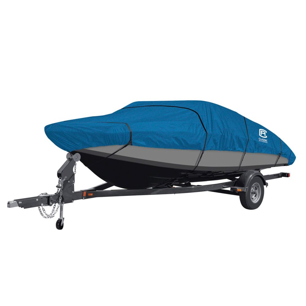 Classic Accessories Stellex All Seasons Boat Cover, Fits Boats 20 ft. - 22 ft. L x 106 inch W