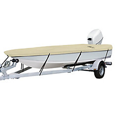DryGuard Waterproof Boat Cover, Fits Boats 14 ft. - 16 ft. L x 75 inch W