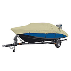 DryGuard Waterproof Boat Cover, Fits Boats 17 ft. - 19 ft. L x 102 inch W