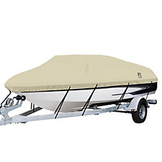DryGuard Waterproof Boat Cover, Fits Boats 22 ft. - 24 ft. L x 116 inch W
