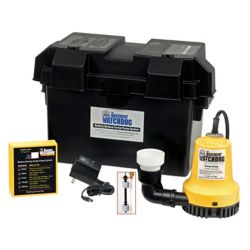 Basement Watchdog 1/4 HP Emergency Battery Backup Automatic Sump Pump