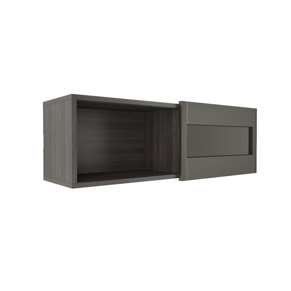 nexera tablette murale avec porte coulissante nuance home depot canada. Black Bedroom Furniture Sets. Home Design Ideas