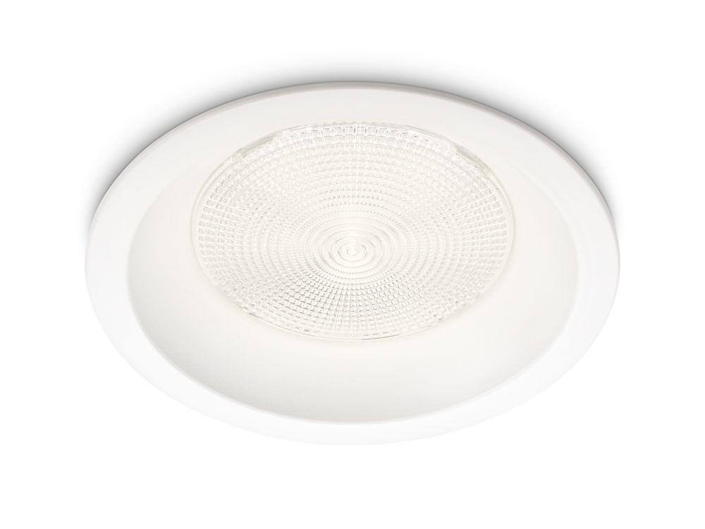Garniture d'encastré de conversion DEL 6 po. 9W = 60W - blanc (2700K)
