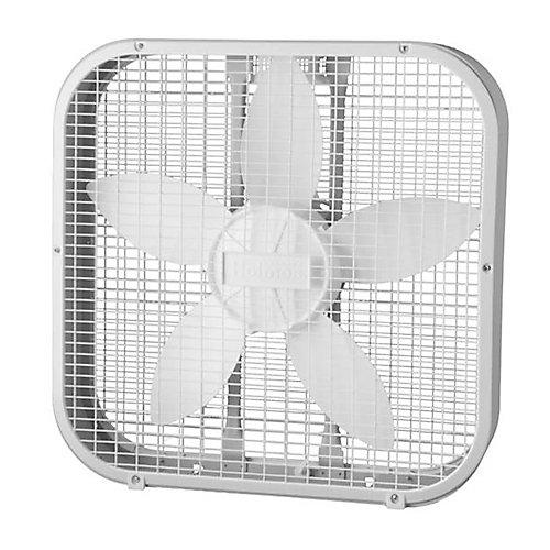 Ventilateur avec cadre de 20 po