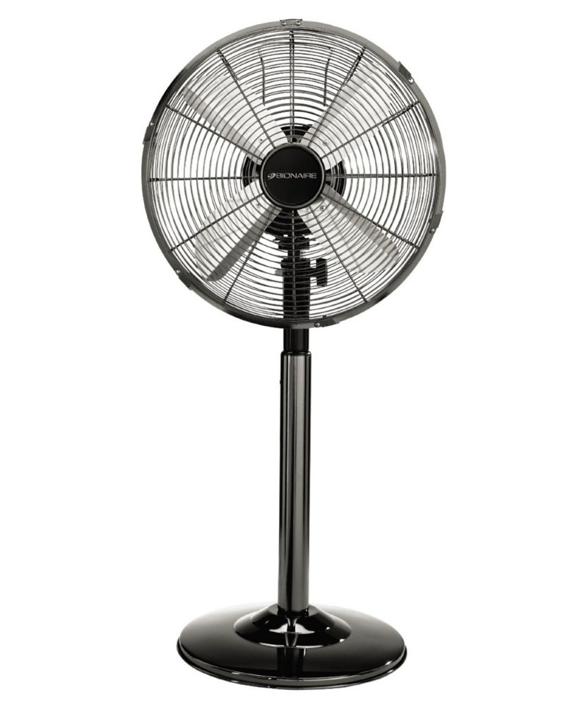 Home Fans On A Stand : Bionaire inch in chrome table stand fan the