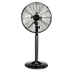 12 Inch 2-in-1 Chrome Table / Stand Fan