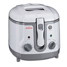 1.5 Litre Cool Touch White Deep Fryer