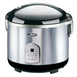 Oster 20 Cup Stainless Steel Digital Rice Cooker