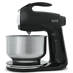 12 Speed Die Cast Stand Mixer, Black