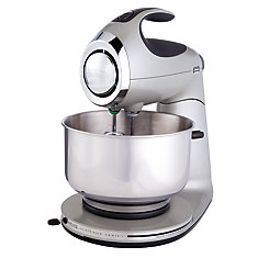 12 Speed Die Cast Stand Mixer, Silver
