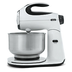 12 Speed Die Cast Stand Mixer, White