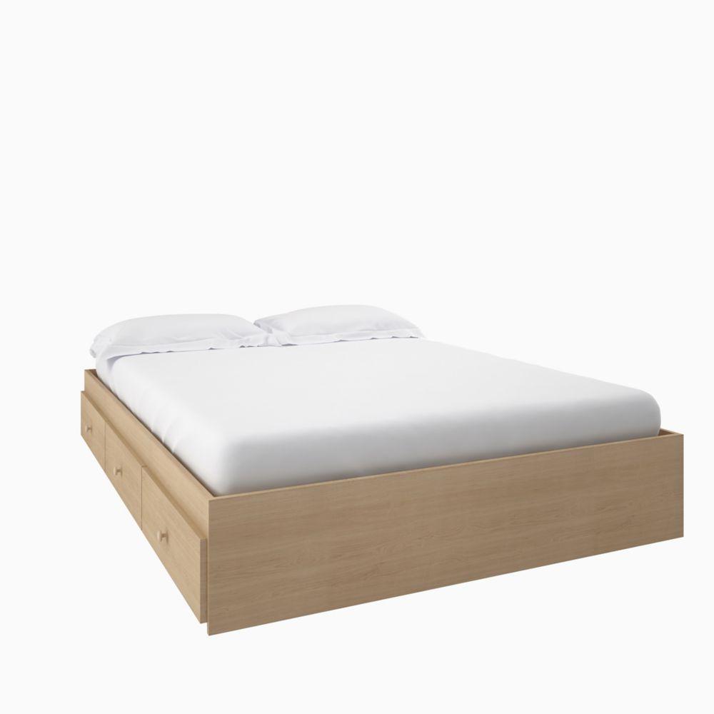 Alegria Full Size 3-Drawer Storage Bed