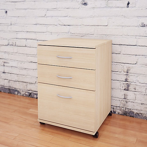 nexera essentials 18.63-inch x 26.63-inch x 17.63-inch 3-drawer 3 drawer metal file cabinet