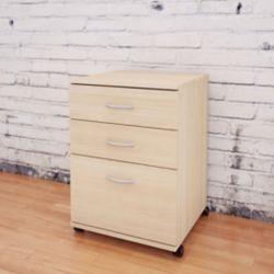 Nexera Essentials 18.63-inch x 26.63-inch x 17.63-inch 3-Drawer Metal Filing Cabinet in Brown